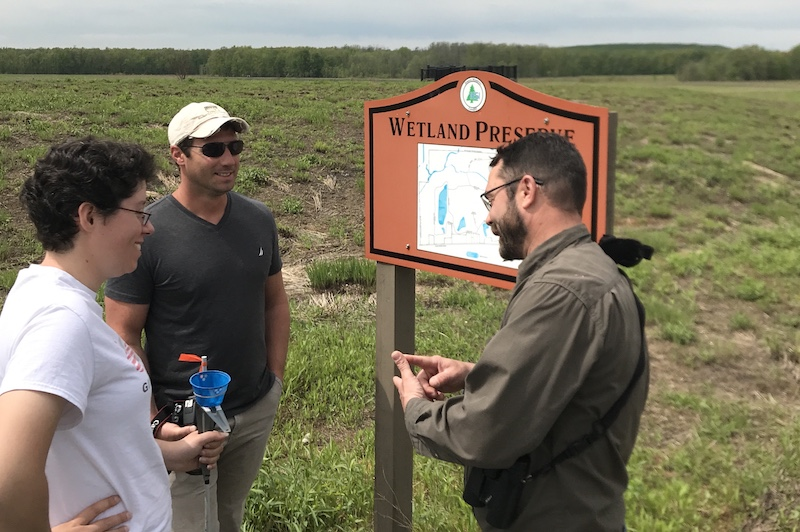 ESF masters candidate will research pollinators at Seneca Meadows Preserve and Montezuma Wetlands