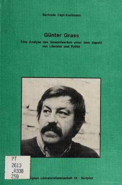 Cover of: Günter Grass | Gertrude Cepl-Kaufmann