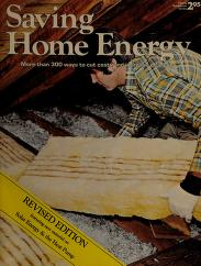Cover of: Saving Home Energy | Richard V. Nunn