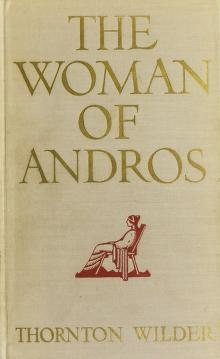 Cover of: The woman of Andros   Thornton Wilder